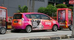 reklama samochodowa