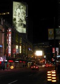 telebim reklamowy w centrum miasta