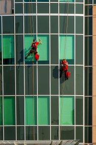 mycie okien na wysokościach