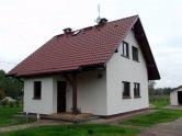 Dom wybudowany w technologi szkieletowej